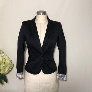 H&M Women's Black Blazer Jacket